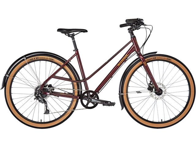Kona Coco - Bicicleta urbana - rojo